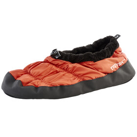Nordisk Daunenschuhe - Chaussons - orange/noir